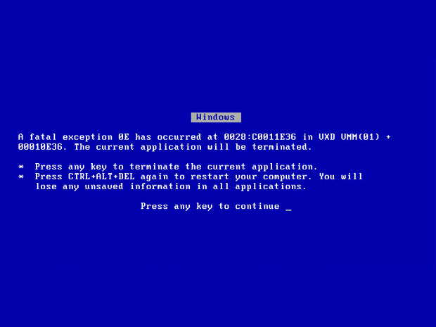 """Design and copy changes in the new Windows 8 """"blue screen of death"""""""